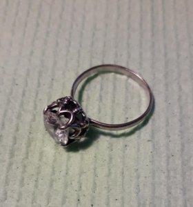 Кольцо серебро 16,5 р.