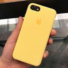 iPhone 7/8 silicone case - yellow
