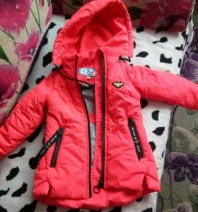 Ветровка и куртка на девочку