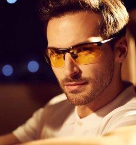 Очки для водителей жёлтые + чехол