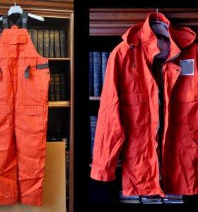 Куртка с капюшоном + полукомбинезон Спецодежда