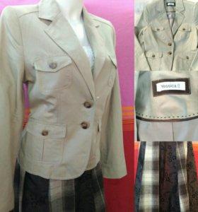 Новый пиджак и юбка.Готовый комплект или раздельно