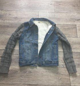Джинсовая куртка на подкладке