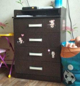 Детский комод (пеленальный столик)