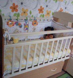 Детская кроватка Топотушка Верона