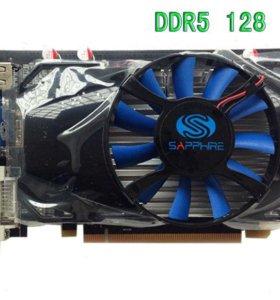 Видеокарта HD6750 1G DDR5