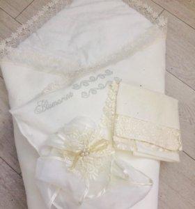 Конверт-одеяло на выписку Blumarine