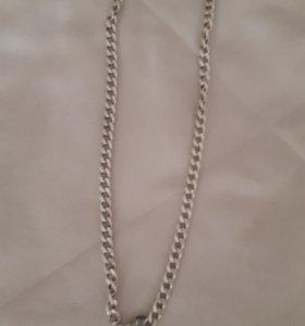 Цепочка серебреная с крестом купленная на Кипре