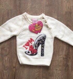 Новый свитер на девочку
