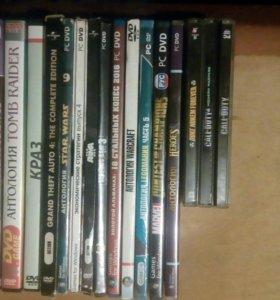 DVD, компьютерные игры
