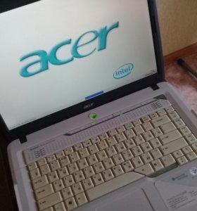 """15,4"""" Acer 2ядра 2гига"""