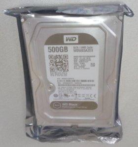 Новый жесткий диск WD5003AZEX 500Гб
