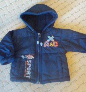 Куртка весна-осень на мальчика 1 г.