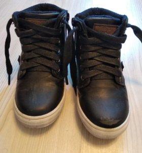 Демисезонные ботиночки с утеплителем