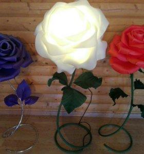 Торшеры цветы