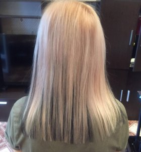 Коррекция , Наращивание волос