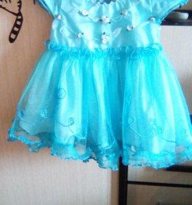 Платье на малышку .