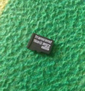 Флешка 16гигабайт