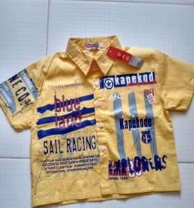 Рубашка новая 104-110 р.