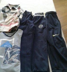 Спортивные штаны мальчику 6-8 лет
