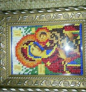 Икона Тихвенская Богоматерь