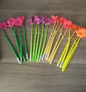 Новые ручки в виде цветов