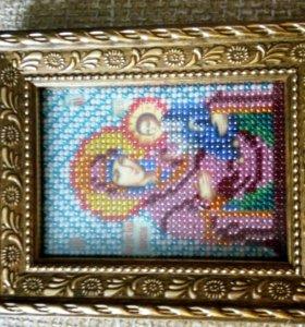 Икона Иверская Богоматерь