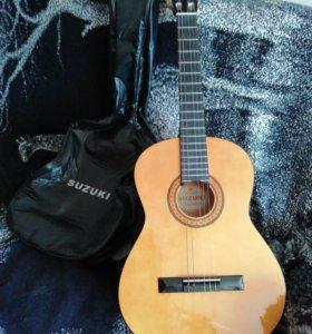 Гитара suzuki, япония