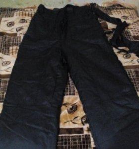 Новый комплект зимний черный камуфляж