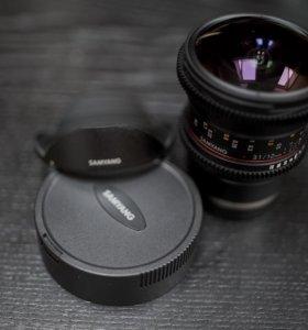 Samyang 12mm T3.1 vdslr ED AS NCS Fish-eye Sony E