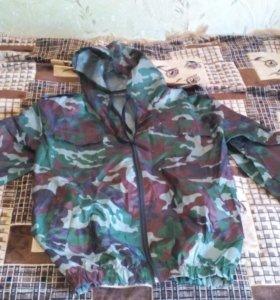 костюм ветровлагозащитный камуфляж зел. расцветки