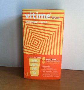 Vitime sport isotonic + bcaa