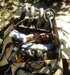 Инжектор, провода, мозги в сборе 406