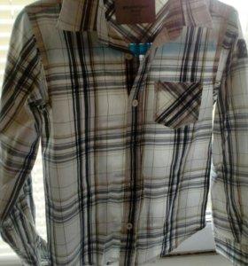 Рубашка на мальчика 6-7лет