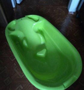 Ванночка для купания с горкой