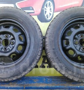 185/65R14 Michelin X-ice North на дисках 4*100