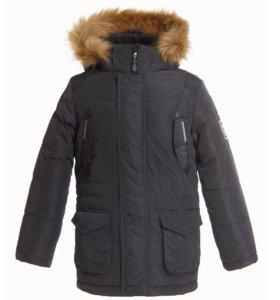 Мужская зимняя куртка-парка.