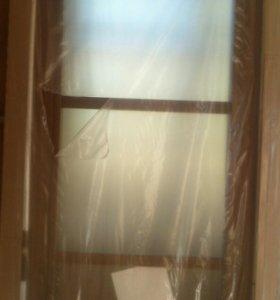 Полотно дверное шпон