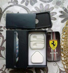 Коробка и чехол от iphone 5