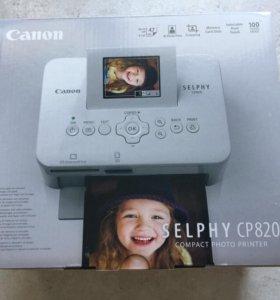 Комплект Фотопринтер Canon+набор расходников