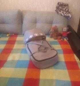 Люлька переноска для детей +сумка