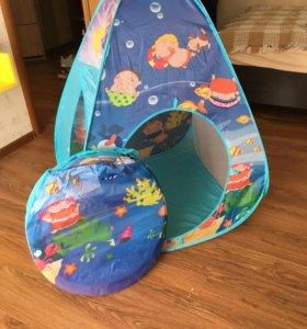 Палатка игровая с тоннелем