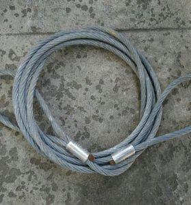 Петлевой канатный строп с опрессовкой