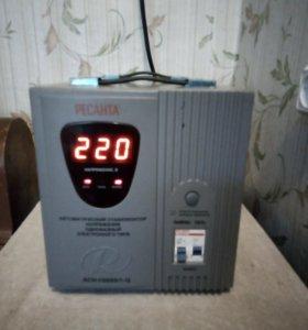 Стабилизатор РЕСАНТА АСН-10000/1-ц.