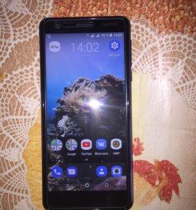 Nokia 3.1 индиго на гарантии