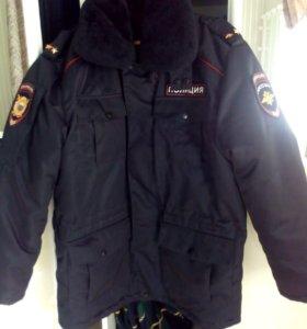 Бушлат полицейский