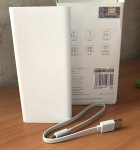 Аккумулятор Xiaomi Power Bank 2C 20000 (новый)
