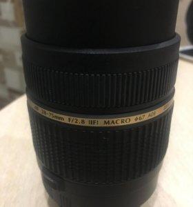 Объектив Tamron 28-75mm f/2.8 для Canon