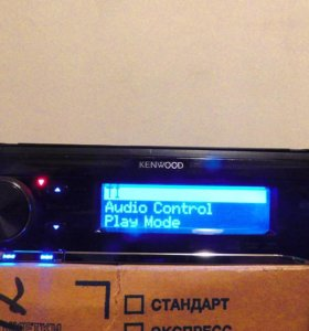 Процессорная магнитола Kenwood U585BT
