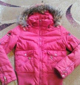 Зимняя укороченная куртка 44-46.